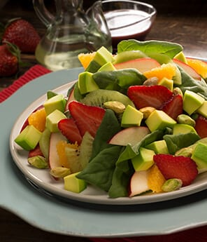 Ensalada de Espinaca y Frutas
