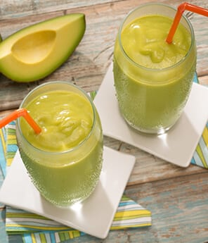 Mango, Coconut and Avocado Smoothie