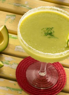 Margarita with Avocado
