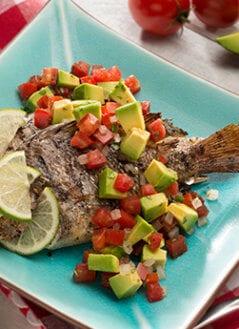 Roasted Fish