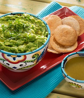 Spicy Green Goddess Guacamole