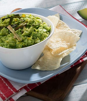 Sour Orange, Honey, Habanera, & Caramelized Scallion Guacamole