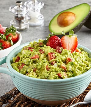 Strawberry Pico Guacamole