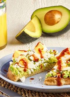 Smoky Chipotle Avocado Breakfast Toast