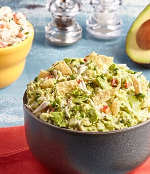 Guacamole Three Ways- Lump Crab