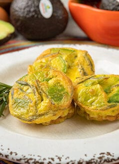 Avocado, Rosemary & Egg Mini Quiche