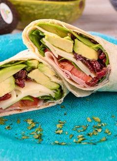 Ham, Avocado & Cranberry Wrap
