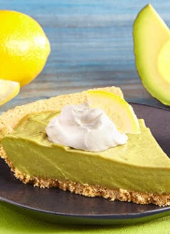 Lemon Avocado Pie
