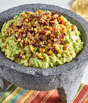 Crazy Nut Salsa Macha Honey Guacamole
