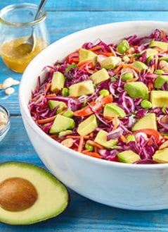 Avocado Rainbow Slaw