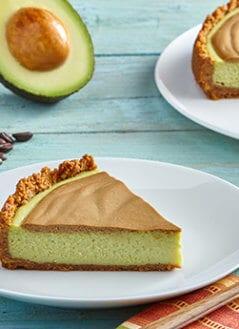 Café de Olla Cheesecake with Avocado