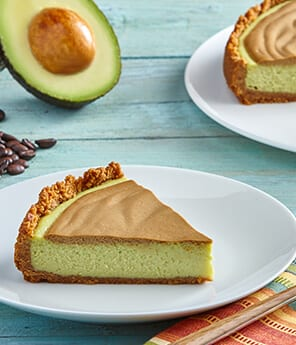 Café de Olla Cheesecake with Avocado