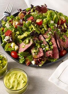 Avocado Chimichurri Steak Salad
