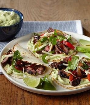 Fajita Avocado Taco