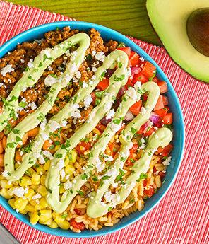 Avocado Burrito Bowl