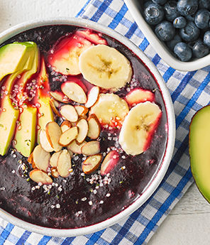 Avocado Superfood Smoothie Bowl