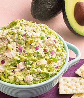 Tuna Salad Guacamole