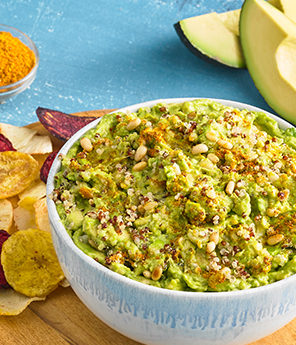 HEARTY AND SPICY GUACAMOLE