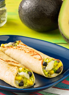 BLACK BEAN AVOCADO TAQUITO