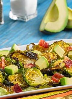 SWEET & CRISPY AVOCADO BRUSSELS