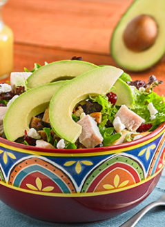 Tangy Avocado Turkey Salad