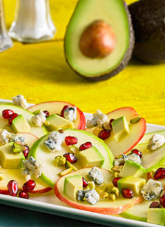 Avocado Apple Nachos