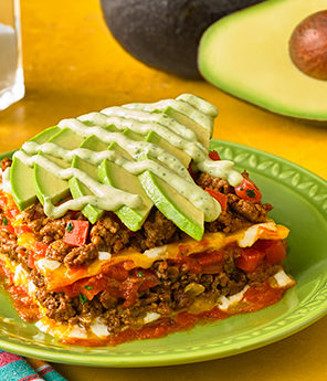 Avocado Mexican Casserole