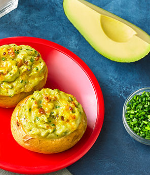 Avocado Potato Poppers